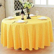 Hotel Tischdecken, Tuch Tischdecken, europäisches Restaurant Restaurant Tischdecken, runde Tisch Röcke , #2 , 120*120cm