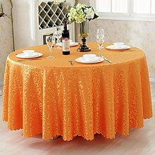 Hotel Tischdecken, Tuch Tischdecken, europäisches Restaurant Restaurant Tischdecken, runde Tisch Röcke , #7 , diameter 200