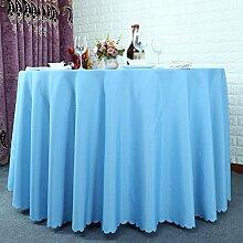 Hotel Tischtücher, Hotelrestaurant Tischdecken, runder Tisch, Tuch Wohnzimmer Tischdecken , #1 , 160cm