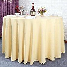 Hotel Tischtücher, Hotelrestaurant Tischdecken, runder Tisch, Tuch Wohnzimmer Tischdecken , #7 , 200cm