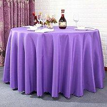 Hotel Tischtücher, Hotelrestaurant Tischdecken, runder Tisch, Tuch Wohnzimmer Tischdecken , #1 , 220cm