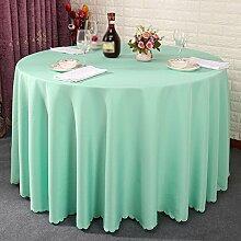 Hotel Tischtücher, Hotelrestaurant Tischdecken, runder Tisch, Tuch Wohnzimmer Tischdecken , #4 , 220cm