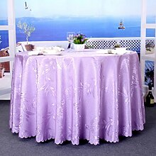 Hotel Tischtücher, Restaurants, Restaurants, Wohnzimmer kreisförmige Tischdecken, gewaschen dicke Tischdecken, Tisch Tisch Röcke , #1 , diameter 200cm