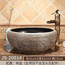 Hotel Waschbecken Keramik über Theke Waschbecken