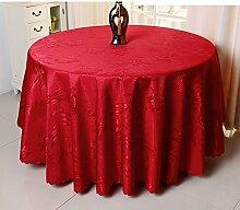 Hotels,Tischdecke,Hochzeit,Runde Tischdecke,Restaurant,Europäisch,Tee Tischdecke-D 140x180cm(55x71inch)