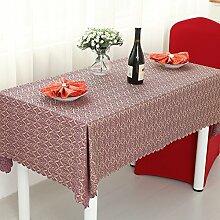 Hotels,West Tischdecke,Mode Tischdecke,Längliche Tischdecke/Stoffe,Europäisch,Tischdecke-A Durchmesser280cm(110inch)
