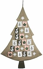 Hotex Adventskalender/Baum, 79 cm x 117 cm,
