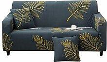 HOTNIU 1-Stück Elastischer Sofabezug 2 Sitzer