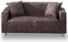HOTNIU Elastischer Sofabezug 2 Sitzer Sofahusse