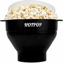 Hotpop Popcorn-Maker für Mikrowelle, Silikon,