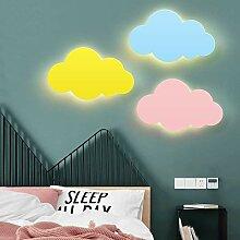 HOU Kinderzimmer Wolke Wandlampe Karikatur