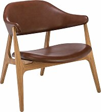 Houe Span Lounge Chair Sessel Braun (b) 77.00 X (t) 77.00 X (h) 72.00 Cm