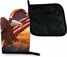 Houlipeng Adler Fliegende amerikanische Flagge