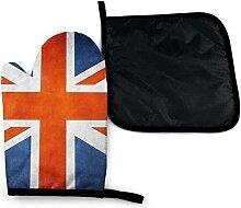 Houlipeng Alte britische Flagge Vintage