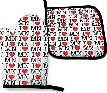 Houlipeng I Heart Minnesota Ich Liebe das Büro