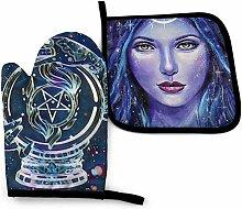 Houlipeng Wicca Wicca Stern Pentagramm Göttin
