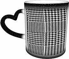 Houndstooth Geometric PlaiSeamless Pattern