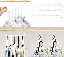 HOUSE DAY 10 Stück Kleiderbügel Kunststoff