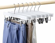 HOUSE DAY 25 Stück Kleiderbügel Hosenbügel