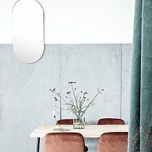 House Doctor - Walls Spiegel Oval, 50 x 100 cm,