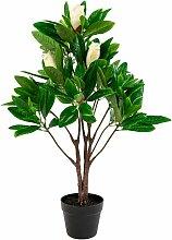 House Nordic | Künstliche Pflanze Magnolie grün