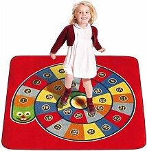House of Kids 13006-e3Schlange Spielmatte Riesen Polyester Mehrfarbig 200x 0,5x 200cm