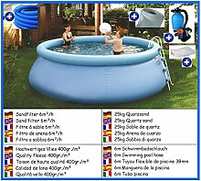 House of Pools Flexi Pool deLuxe rund Mega Set 5,00m x 1,10m mit Sandfilter Pool Pools Rundbecken Rundpool