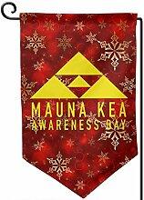 House Yard Flags,Mauna Kea Awareness Day Frohe