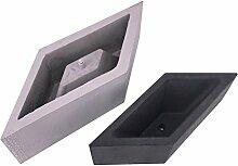 Househome Rhombus Geometrische Beton Pflanzgefäß