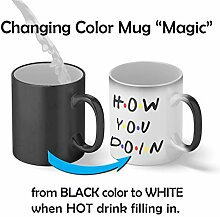 How You Doin Famous Tv Quote Magic Becher Mug|