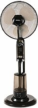Howell VEPN460R Ventilator mit Zerstäuber, Timer, 75Watt, braun, 40x 125cm