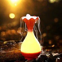 HOX Jade Rein Aroma Luftbefeuchter,Orange