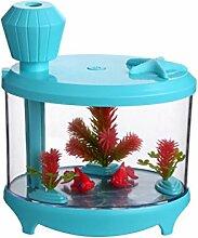HOX Usb, Mini - Aquarium Luftbefeuchter,Blau