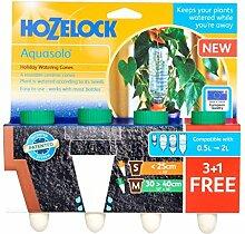 "Hozelock AQUASOLO Slow Bewässerung Kegel (grün) 4Stück für Töpfe bis 40,6cm ""/40cm"