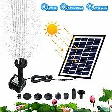 Hpory Solar Teichpumpe 380 l/h Solarmodul
