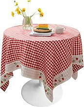 HPSD Tischdecke Runde Tischdecke Küche Restaurant