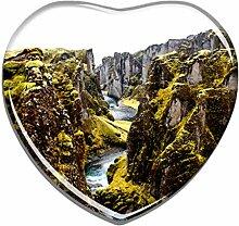 Hqiyaols Souvenir Island Seljavallalaug Canyon