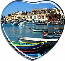 Hqiyaols Souvenir Malta Fischerdorf Hafenboote