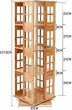 HQQ Holz Bücherregal Multi-Layer Stehend