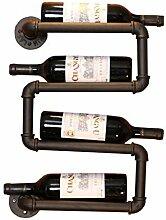 HQQ Regal für Wände Rohr-Modellierung Weinregal