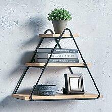 HQQ Wandregal Einfaches Modernes Wohnzimmer Wand
