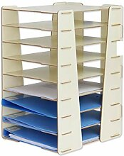 Hqqgwt A4 Dokument Shelf 27 * 33 * 45cm 9