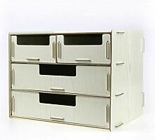 Hqqgwt A4 Schubladenbox 34 x 24 x 25 cm 3