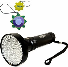 HQRP Professionale LED UV-Taschenlampe fuer
