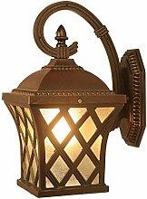 HRCxue Wasserdichte Wandlampe Landhaus-Wandlampe