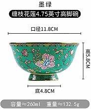 HRDZ Eating Bowl Ceramic Enamel Color is not hot