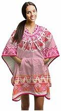 hrowbee Original Handtuch Poncho Pink – 100%