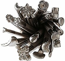 Hrph 20pcs DIY Leder arbeiten Sattel, die Werkzeuge für Lederhandarbeits