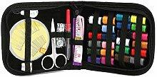 Hrph DIY 24-Nadel-Band Scissor Multifunktions -Themen Nähsets Tragbare Nützliche Reise Home Werkzeuge
