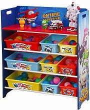 HS-Lighting Kinderregal Spielzeugregal